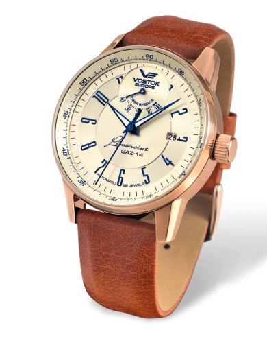 Vostok Europe GAZ-​14 Automatik Power Reserve YN85-​560B519