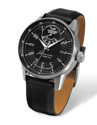 Vostok Europe GAZ-​14 Automatik Power Reserve YN85-​560A517