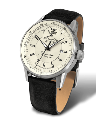 Vostok Europe GAZ-​14 Automatik Power Reserve YN85-​560A518