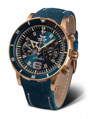 Vostok Europe Anchar Chronograph Quarz 6S21-​510O586